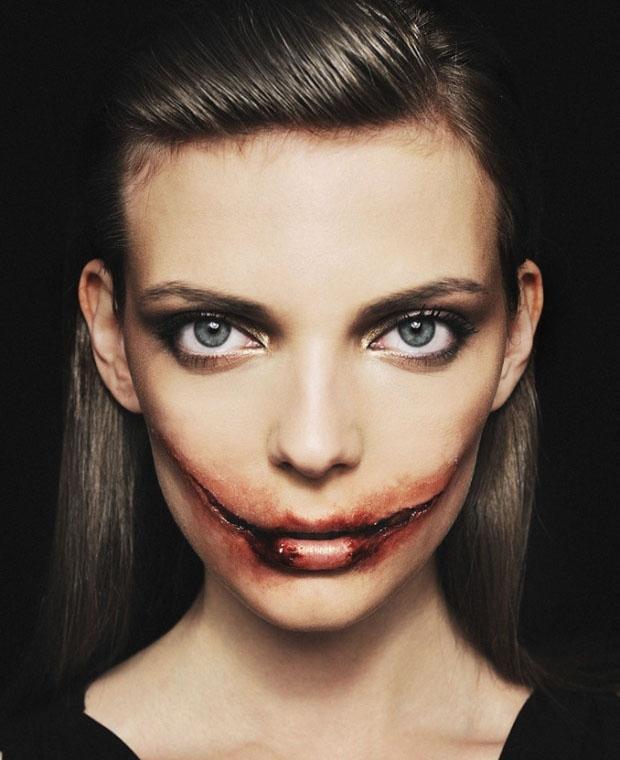 Топ макияж на хэллоуин