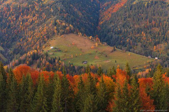 Осенние каникулы в Карпатах