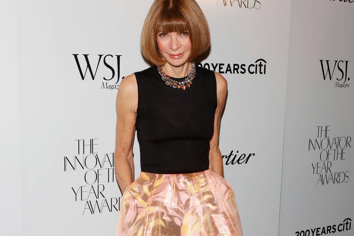 Редактор американского Vogue Анна Винтур