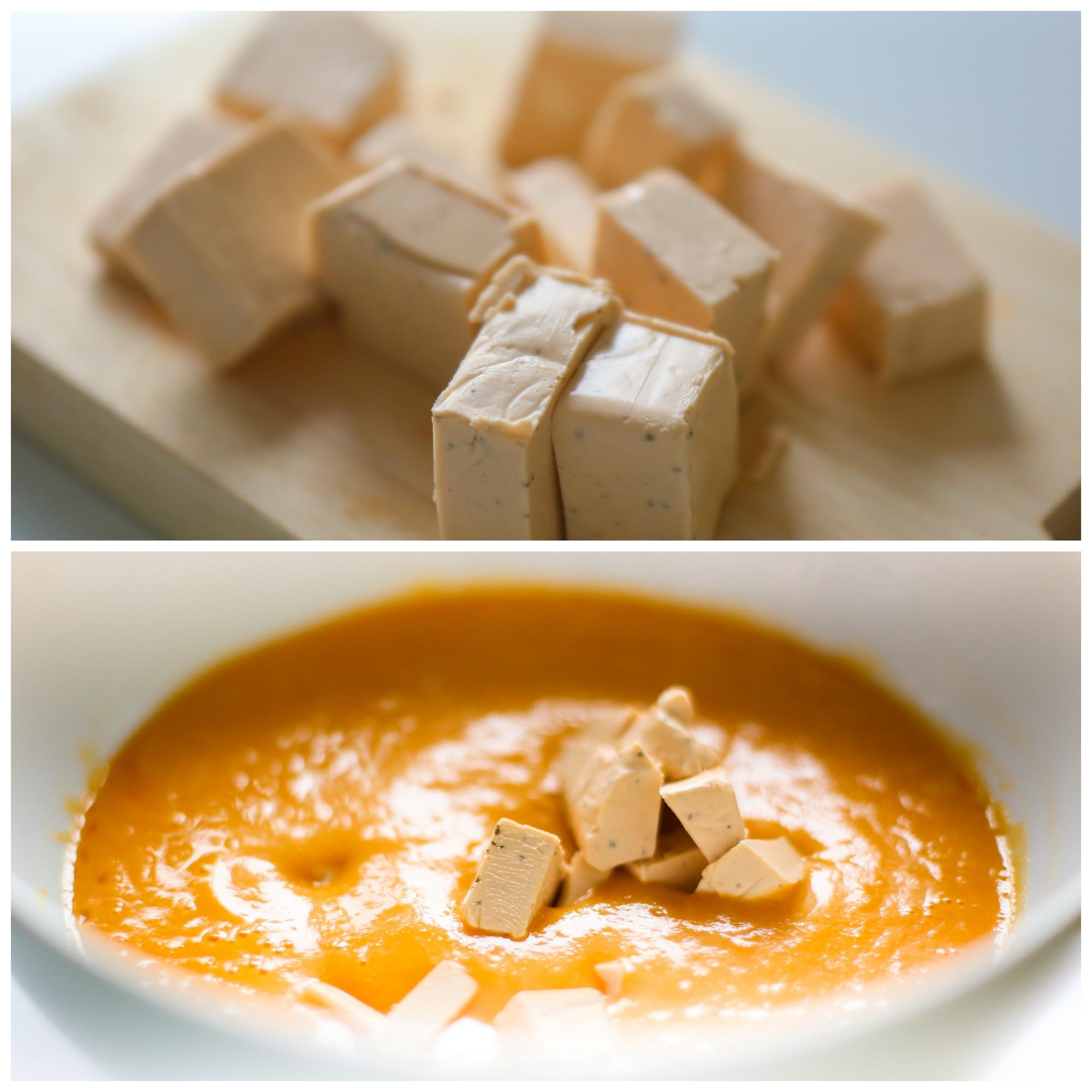 Добавляем в суп плавленный сыр Весела Корівка