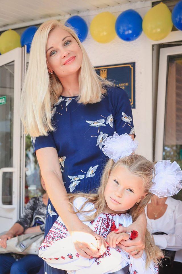 Лидия с дочерью