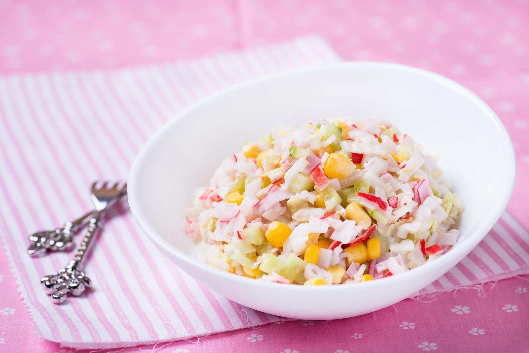 Легкие салаты рецепты с кукурузой
