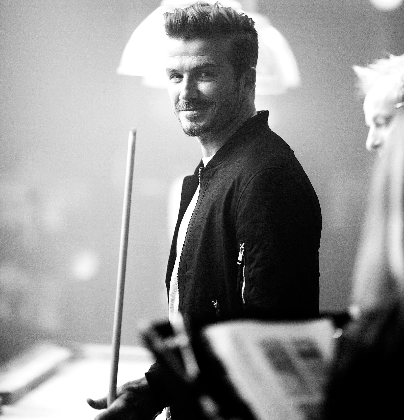 Дэвид Бекхэм снялся в новом видеоролике H&M
