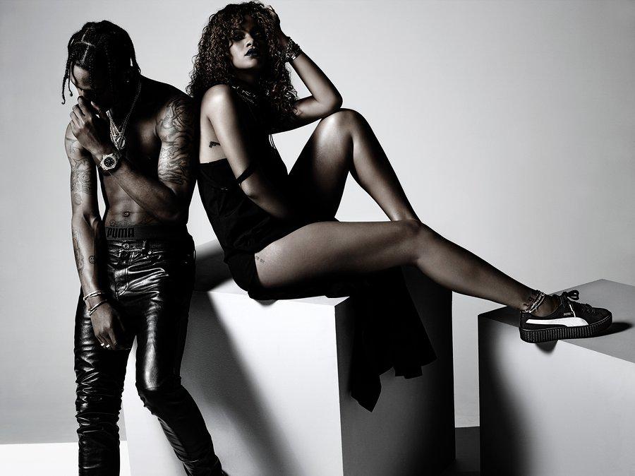 Рианна со своим бойфрендом снялась в рекламной кампании Puma