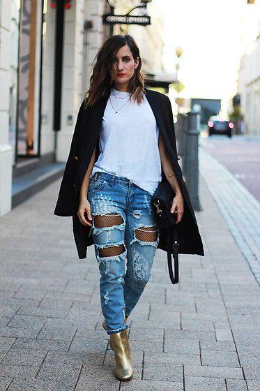 Почему зимой нельзя носить колготки под джинсами