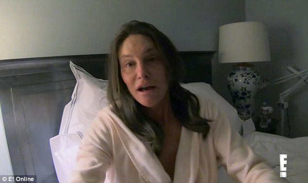 Кейтлин Дженнер без макияжа