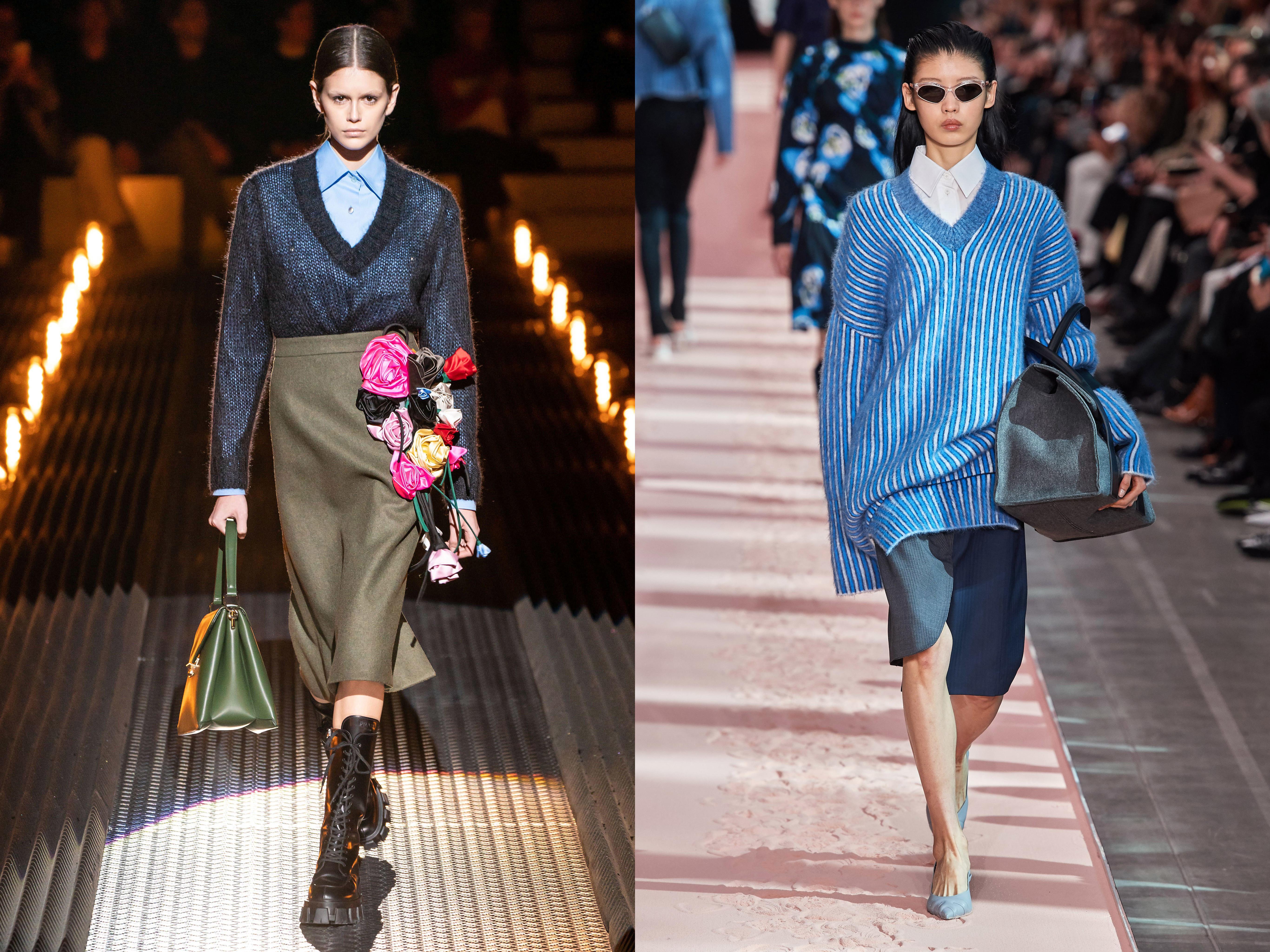 Рубашка и джемпер - целомудренный комплект хорошей и примерной девочки