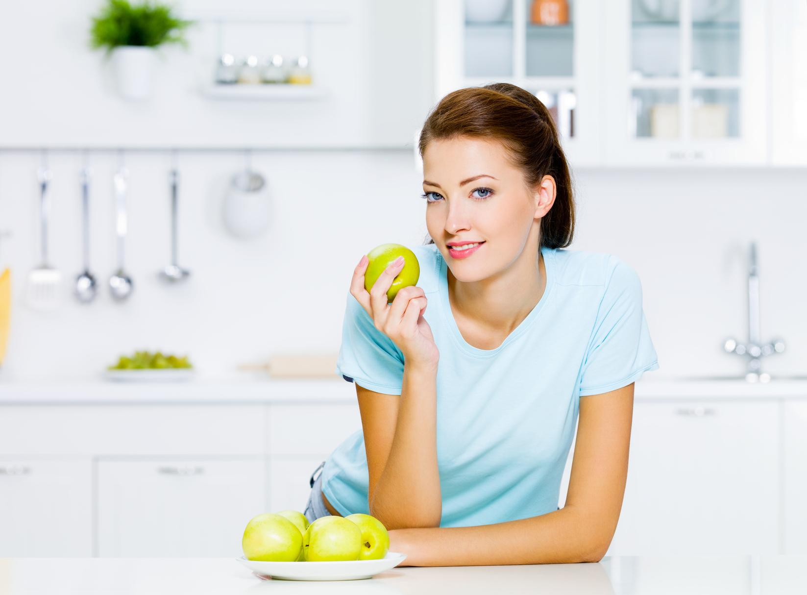 правильное питание яблоки в духовке