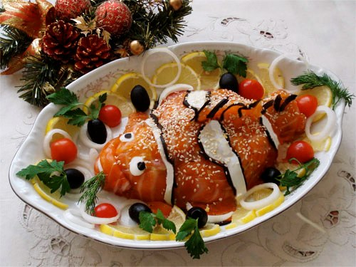 Приготовление блюд новый год