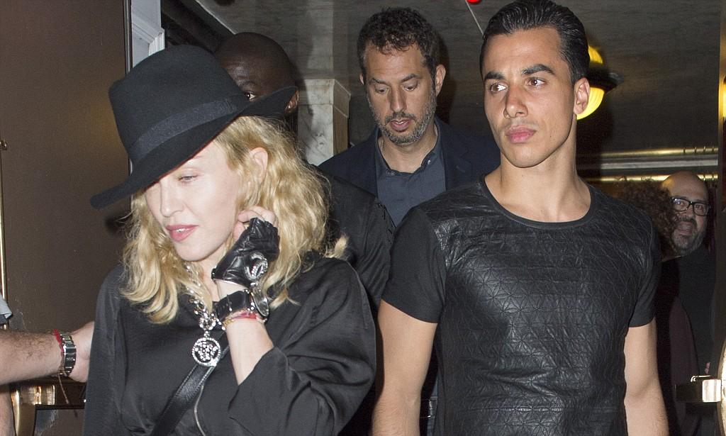 Мадонна с Тимором Стеффенсом
