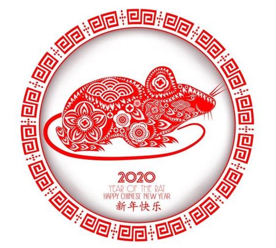 Поздравления с китайским новым годом 2020 - картинки