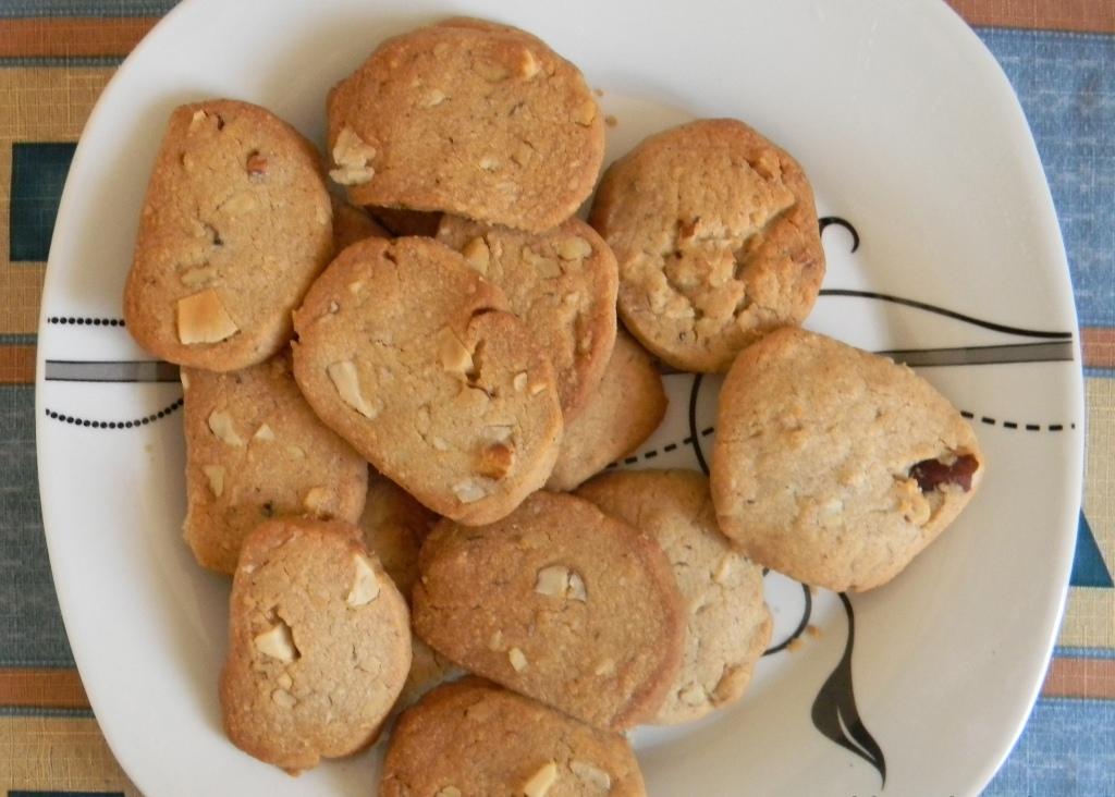 Печенье из бразильского ореха
