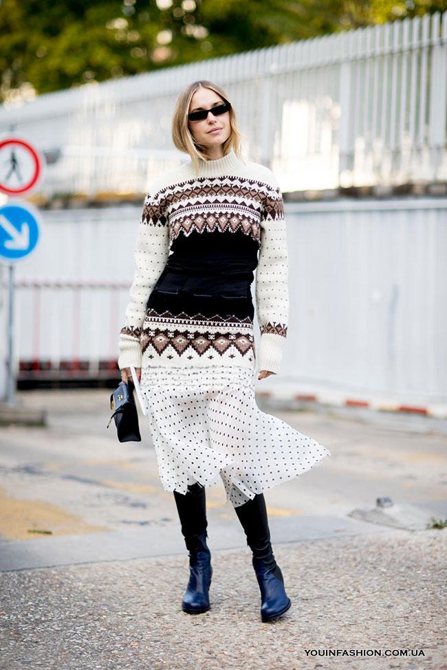 Неактуальные модели свитеров зимой 2019/20: длинный