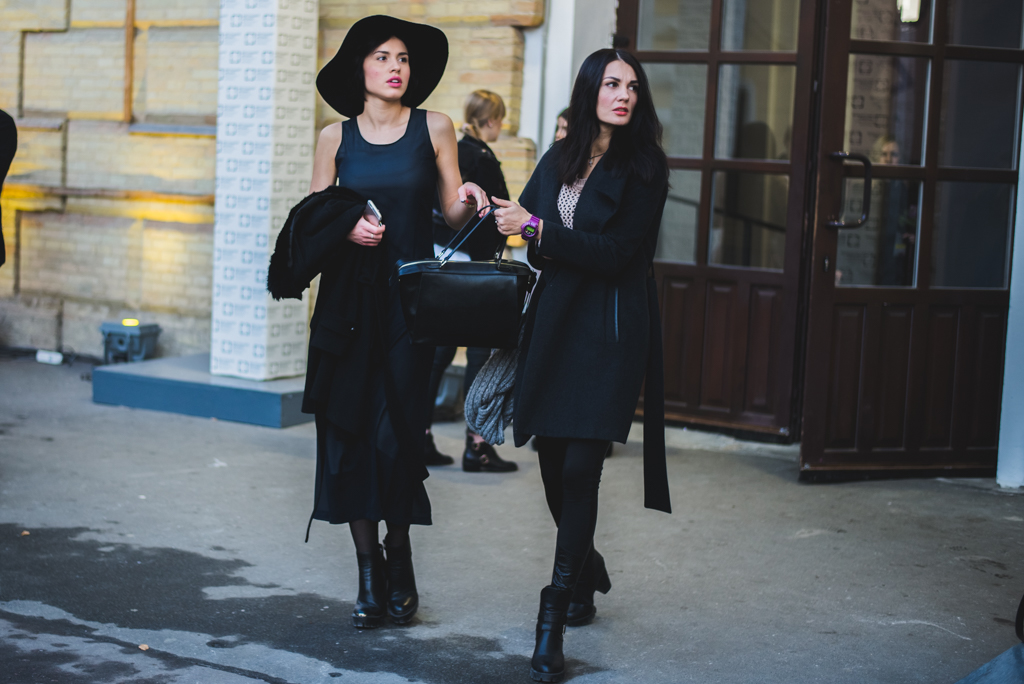 Подружки на Ukrainian Fashion Week