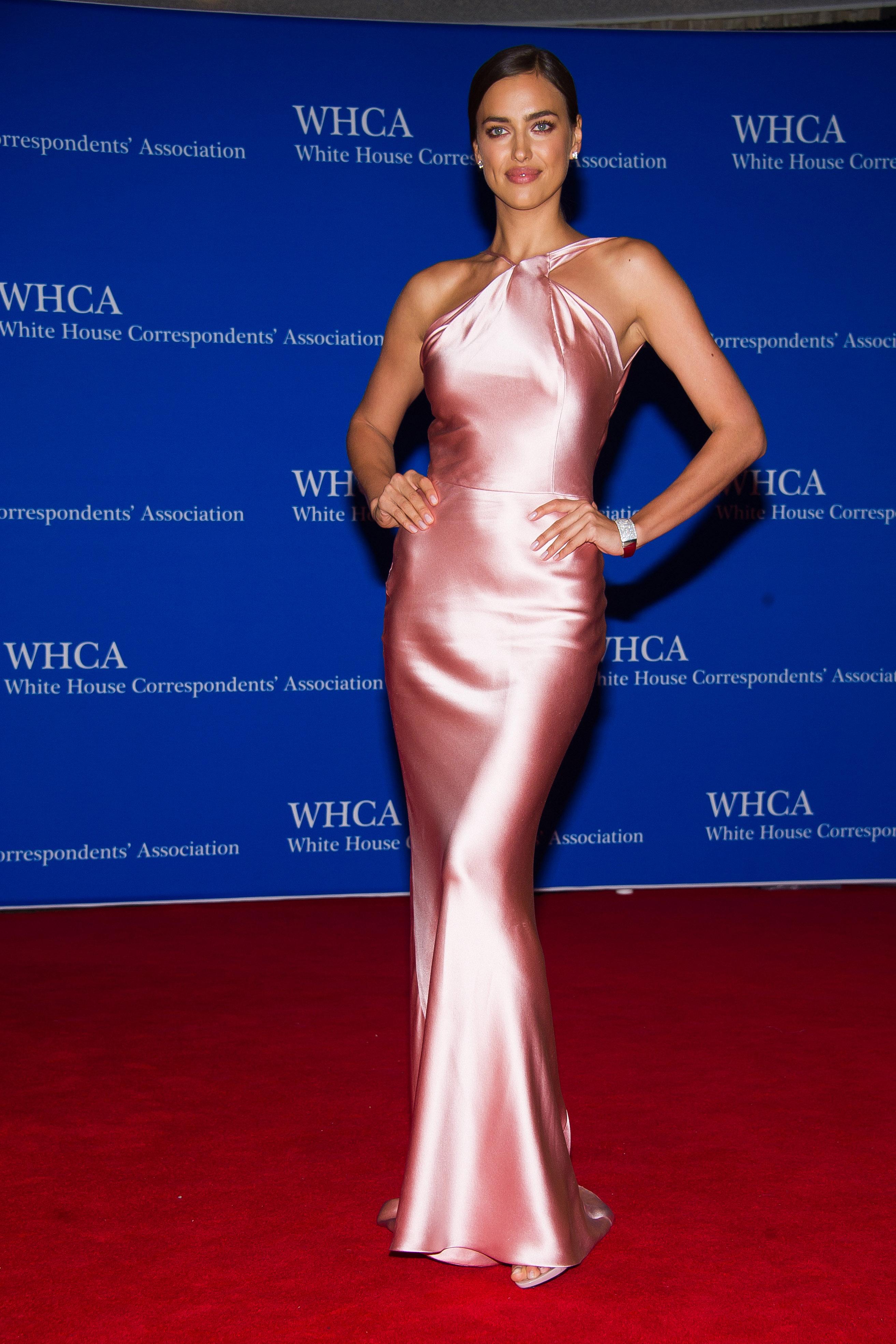 Российская модель Ирина Шейк