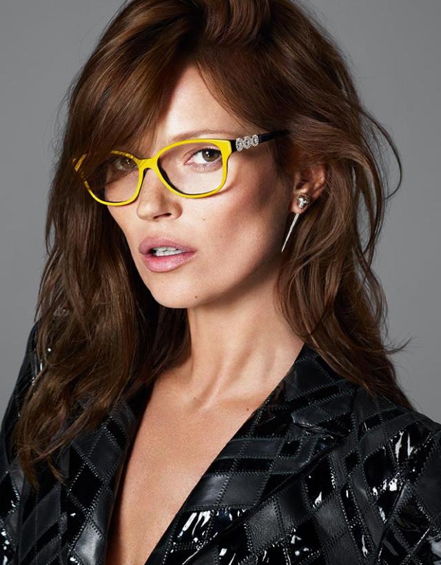 Кейт Мосс в рекламной кампании Versace осень-зима 2013-2014