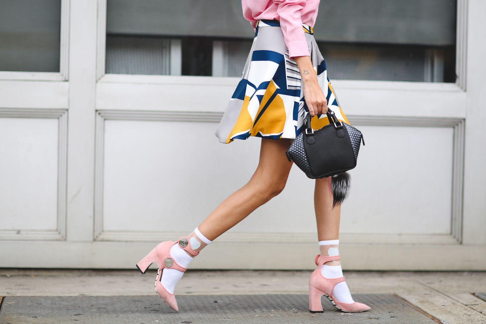 Самые яркие сумки с подиума Недели моды в Нью-Йорке (США)