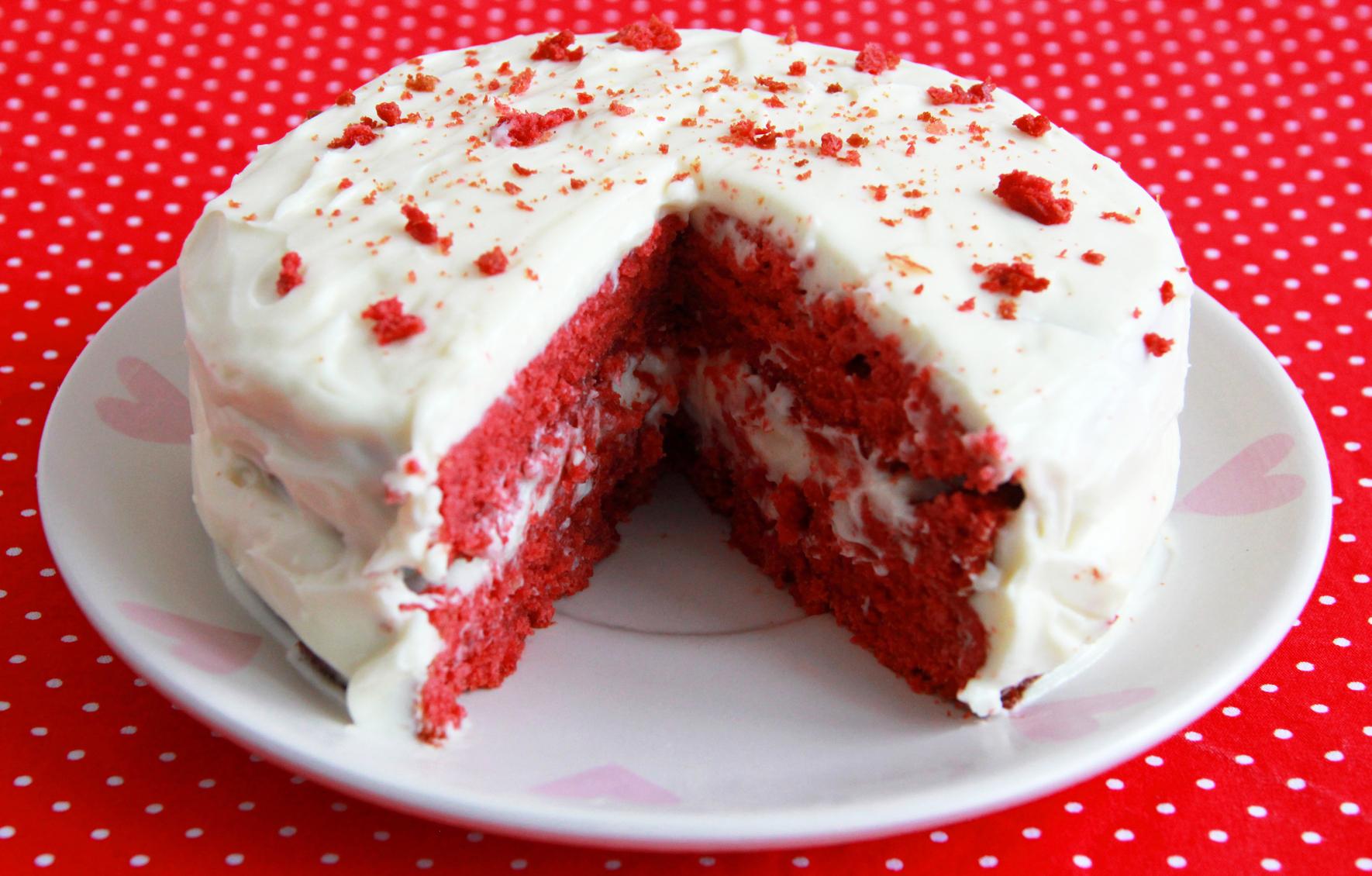 торт красный бархат рецепт с фото оригинальный