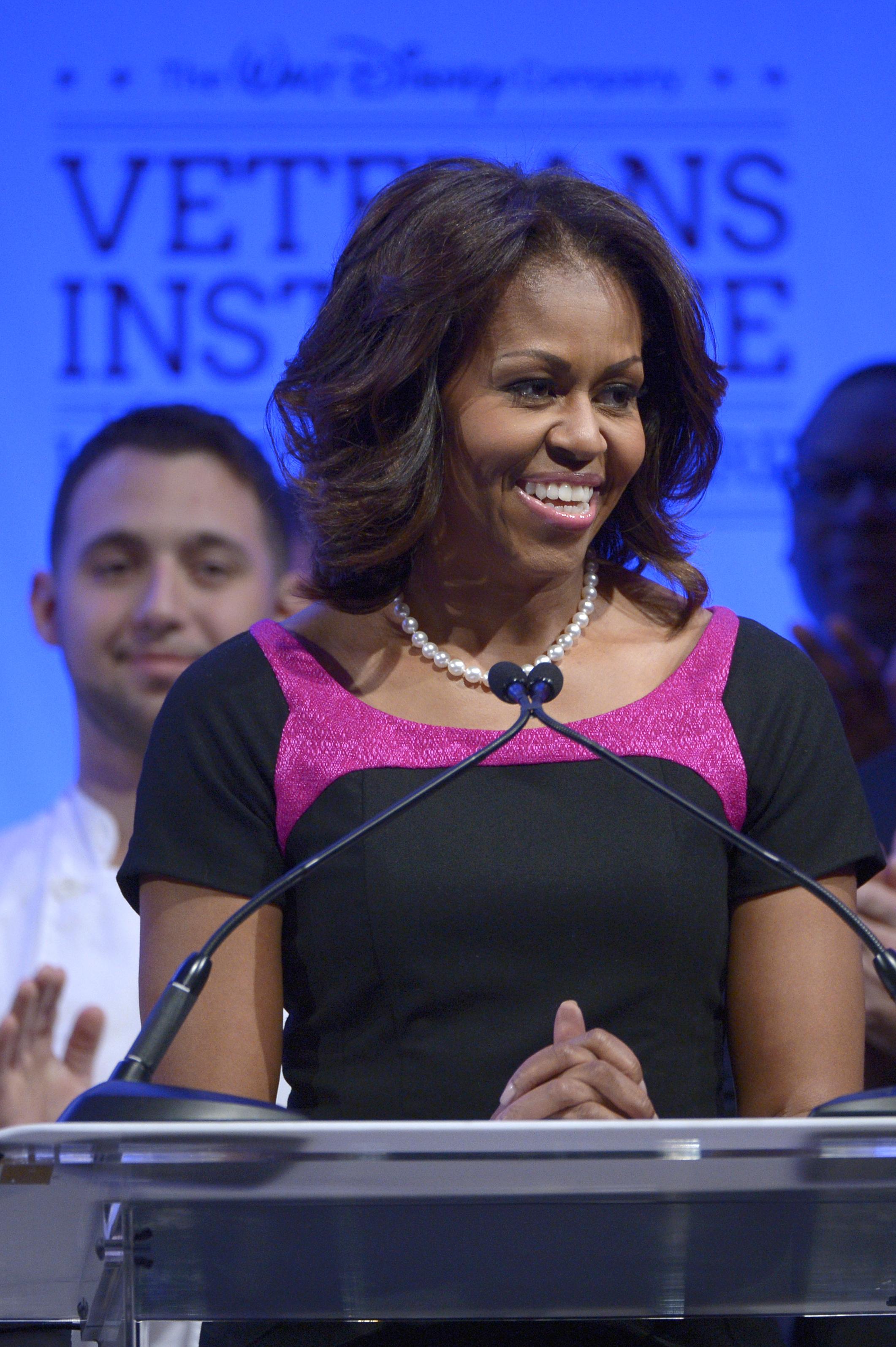 Мишель Обама следит за своим питанием и занимается спортом