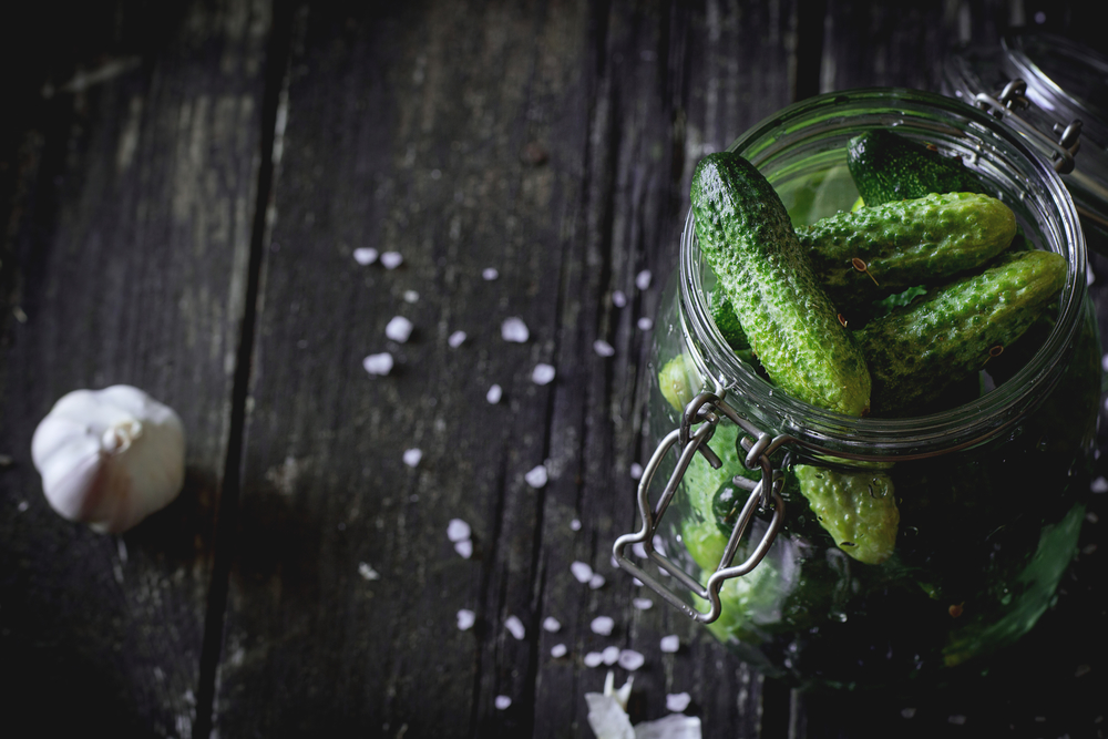 малосольные огурцы с водкой рецепт на зиму