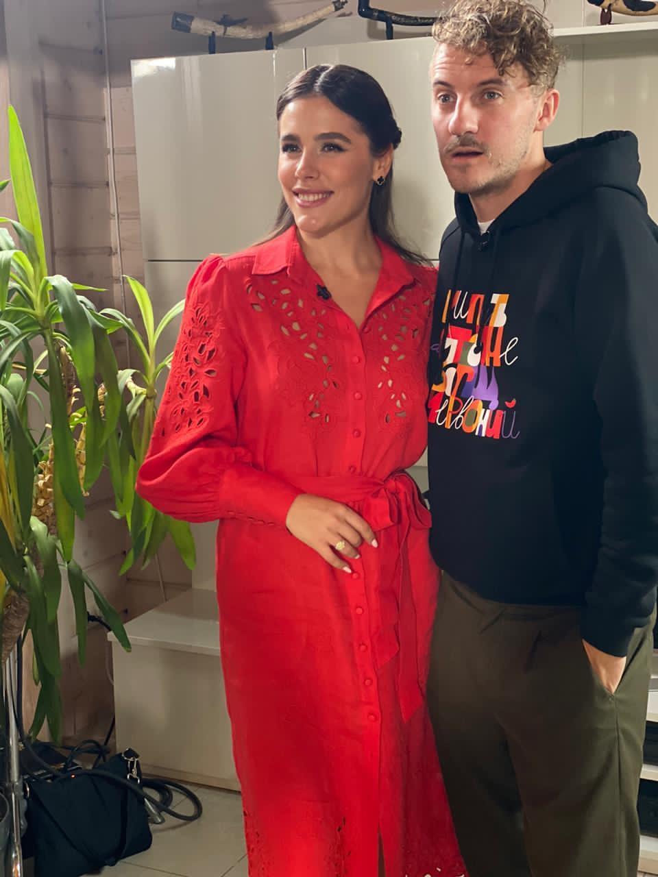 Евгений Клопотенко и Иванна Онуфрийчук
