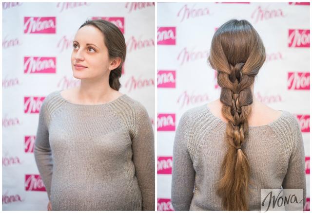 Такое плетение прекрасно подойдет обладательницам длинных волос