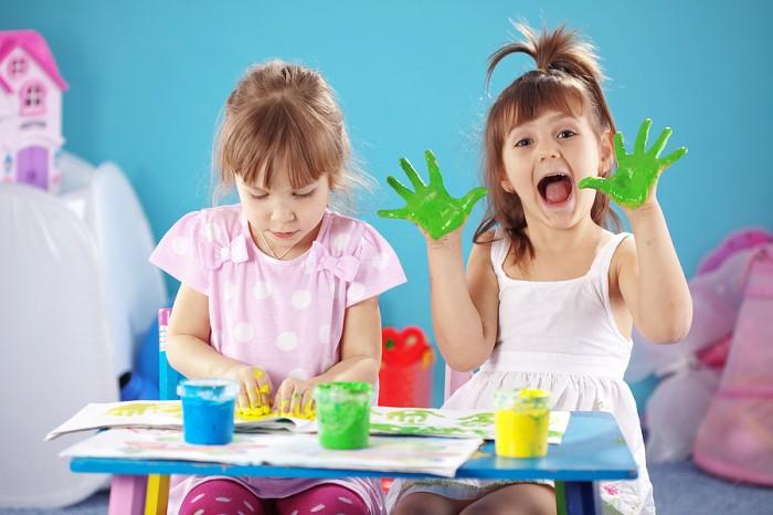 Малыш должен научиться отличать цвета