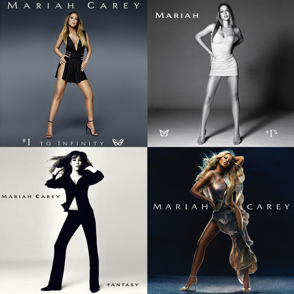 Серия обложек альбомов Мэрайи Кэри