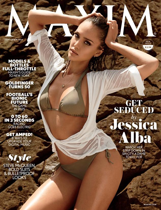 Актриса Джессика Альба снялась в пляжной фотосессии для глянца