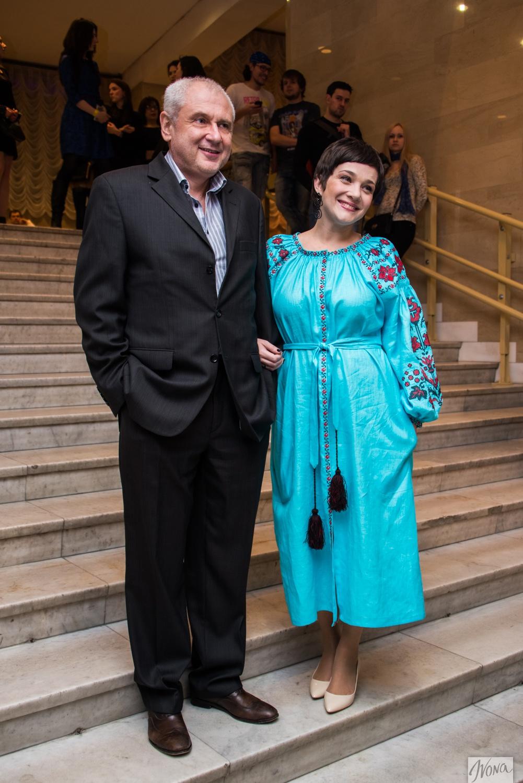 Тала Калатай с мужем