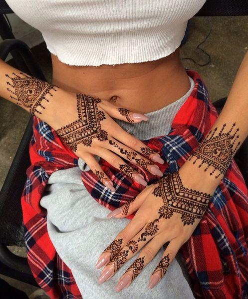 Мехенди - модный тренд лета 2015