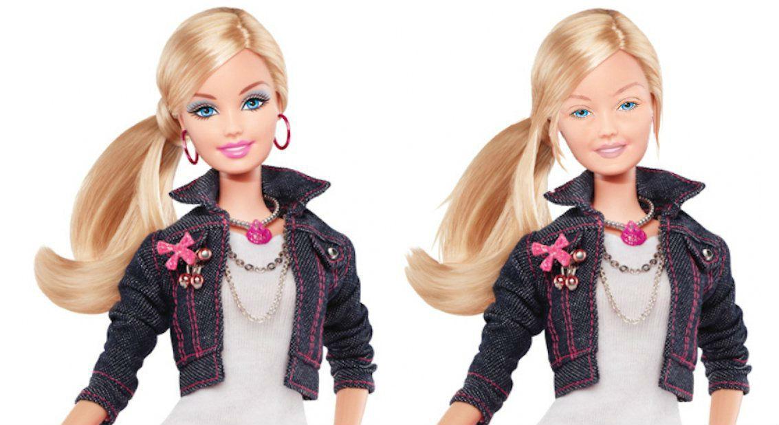 Барби без макияжа выглядит уставшей