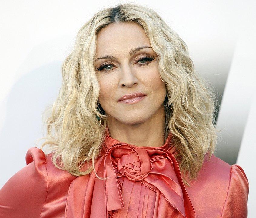 Мадонна сделала селфи специально для  журнала Interview
