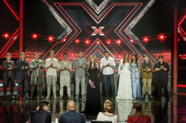 Участники четвертого сезона на сцене Х-Фактора
