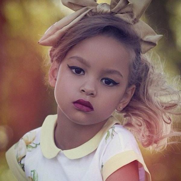 Фоловеры Марио Дедивановича возмутились, увидев на его странице фото малышки с ярким макияжем