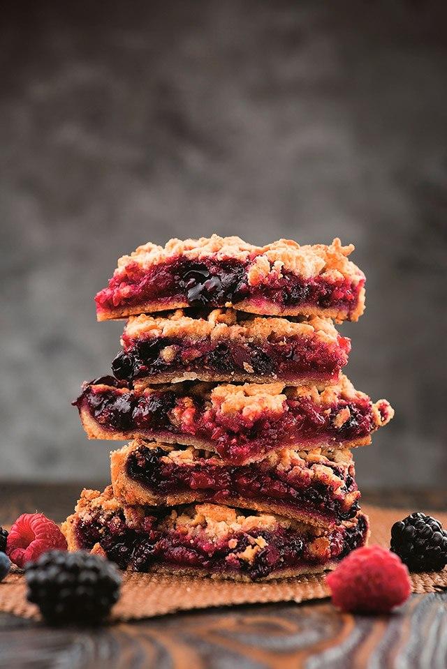 Тертый ягодный пирог от Лизы Глинской