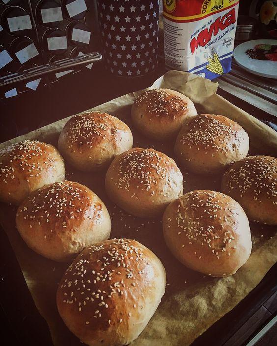 Булочки бриошь для бургеров: подробный рецепт