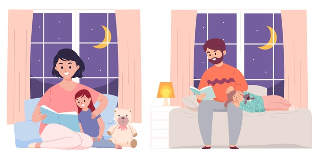 Советы, как без проблем уложить ребенка спать