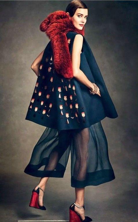 Кюлоты не покидают модную арену: ТОП-5 образов на заметку