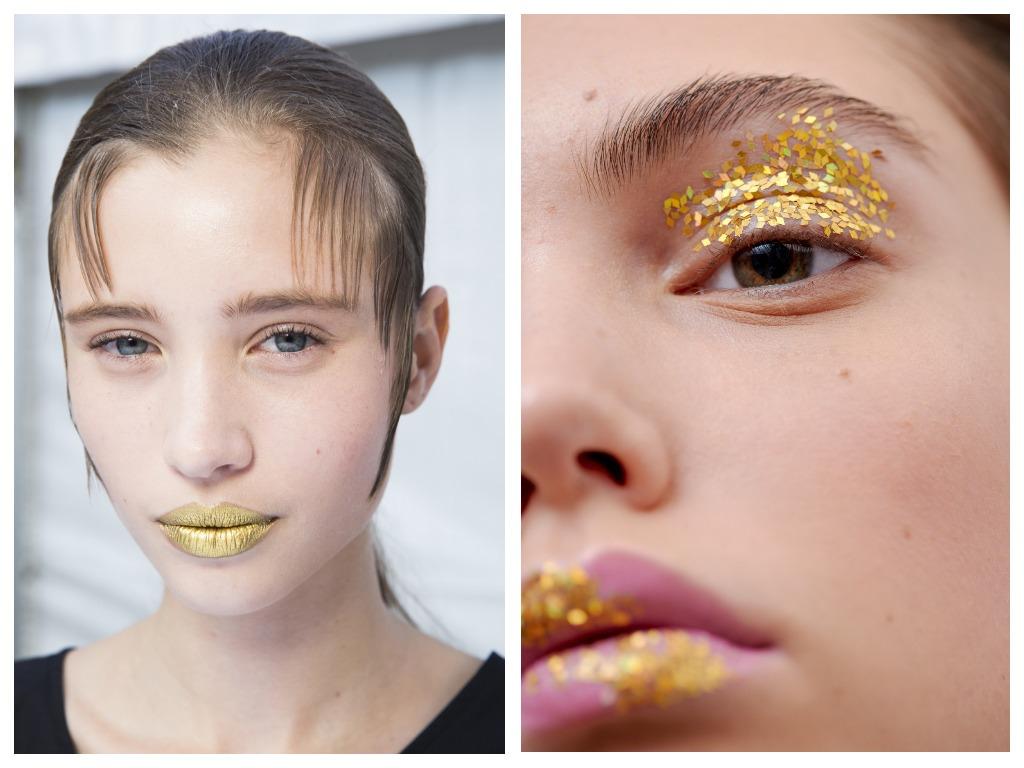 Новогодний макияж 2020 - стильные и актуальные идеи