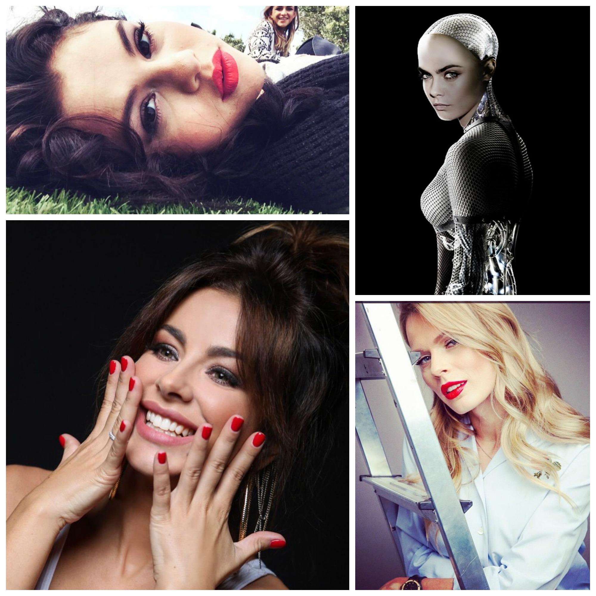 Самые стильные снимки знаменитостей в Instagram