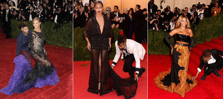 Бейонсе наняла мужчину, который носит подол ее платья