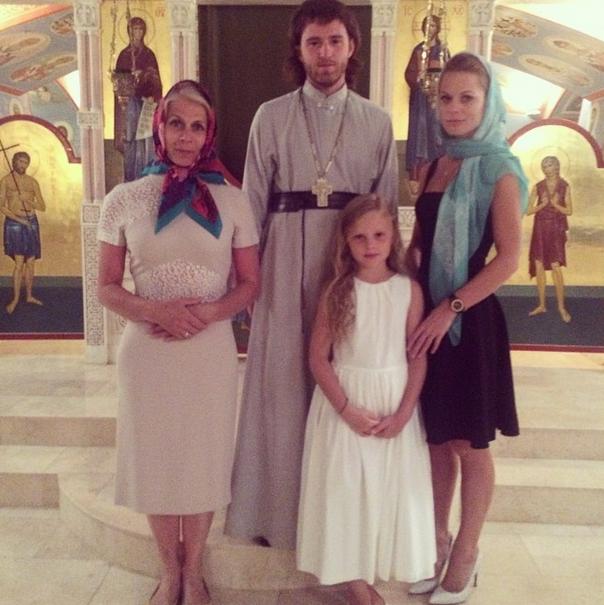 Ольга Фреймут посетила монастырь