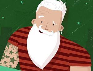 Санта-Клаусу предложили набить тату