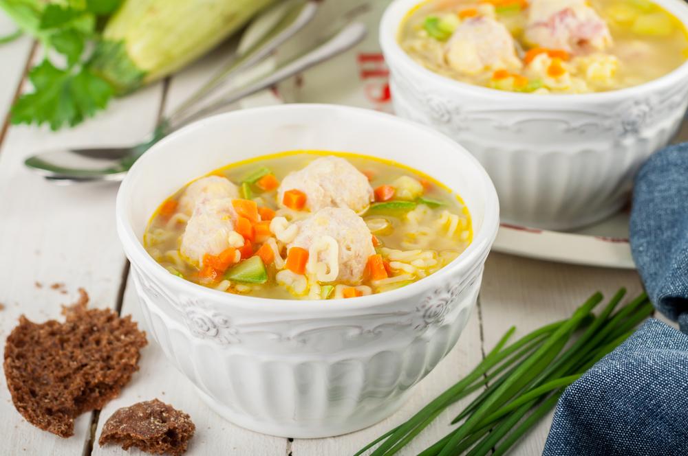 Суп с фрикадельками  12 простых рецептов с фото и видео