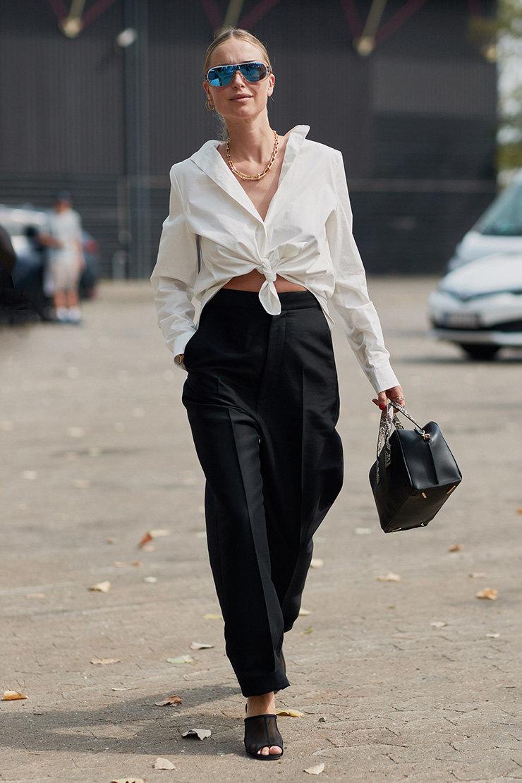 Что носить женщинам после 35-ти лет: Белая рубашка