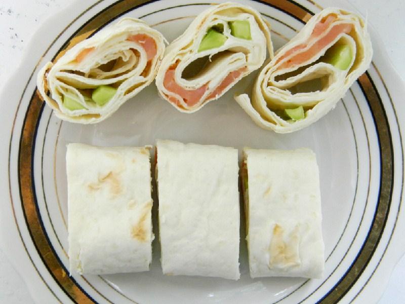 Конвертики из лаваша с зеленью и сыром рецепт 28