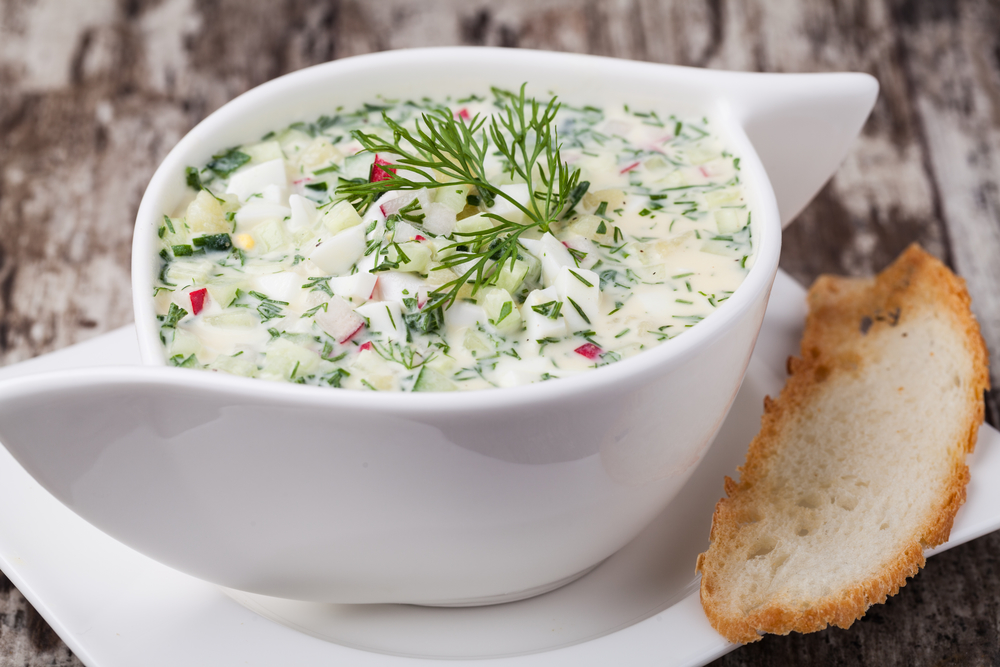 Как приготовить салат тёплый