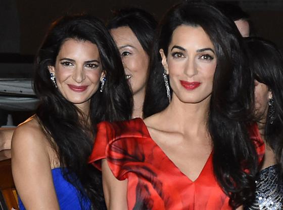 Сестре Амаль Клуни Тале (слева) прогнозируют большое будущее в модной сфере