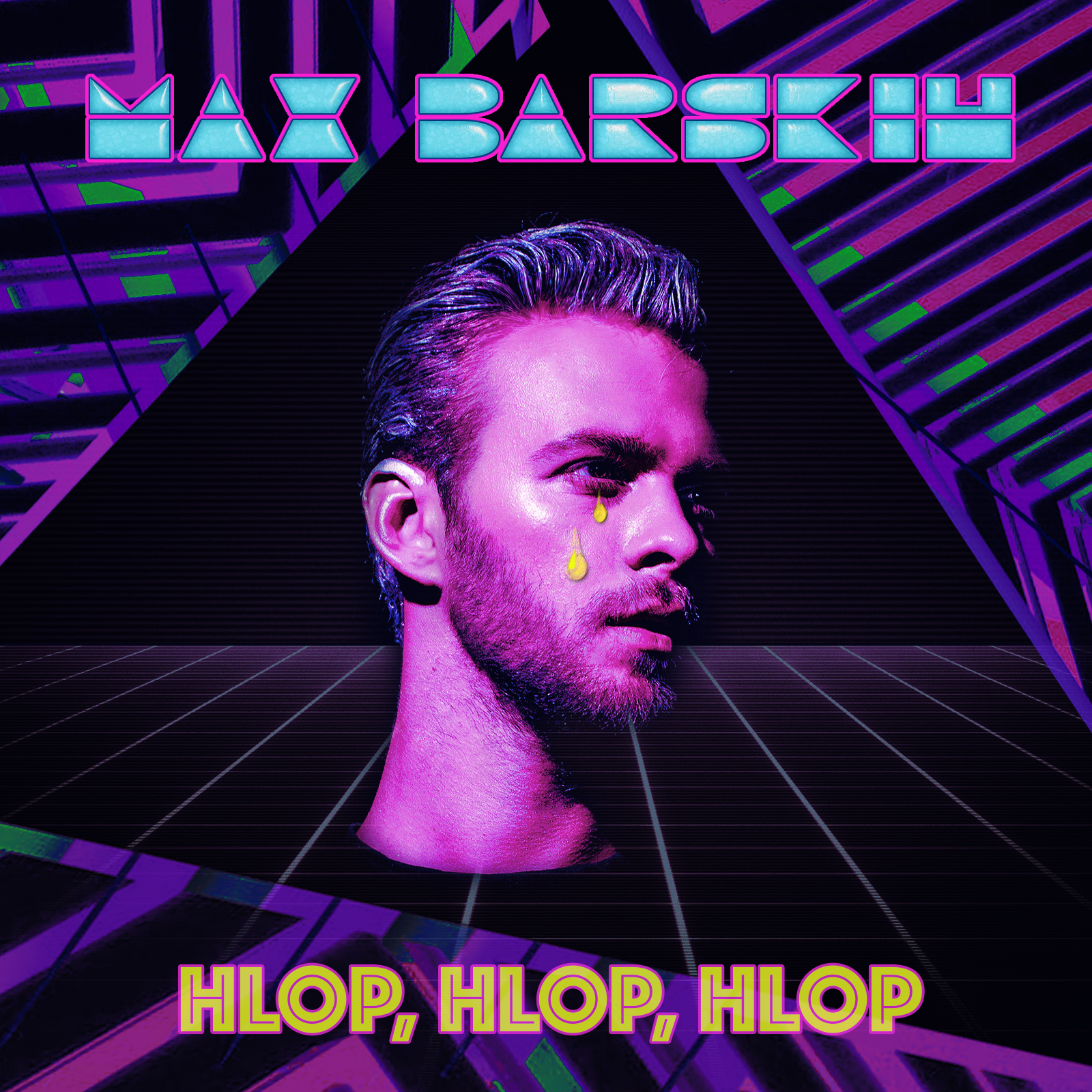 Макс Барских записал новую песню под названием HLOP, HLOP, HLOP.